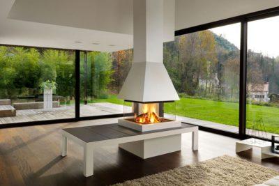 ¿Chimeneas de diseño moderno o rústicas? Elige la más adecuada para tu vivienda