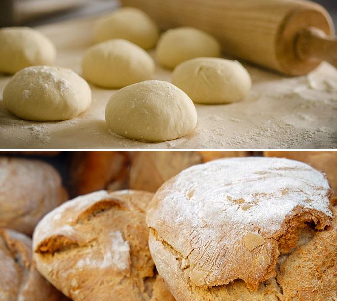 Stufa a legna con forno - Ricetta per cucinare il pane